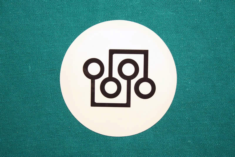 Digitalcoin Round Sticker