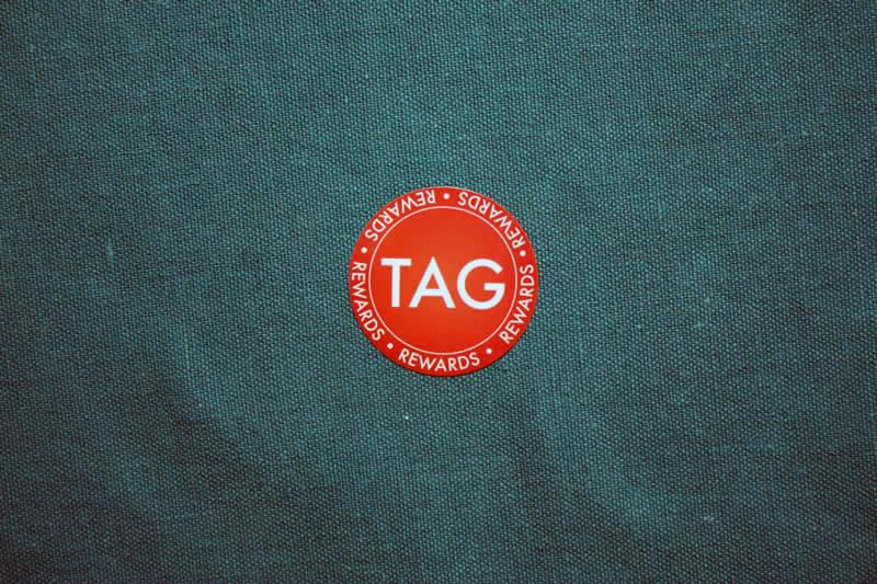 Tagcoin Round Sticker