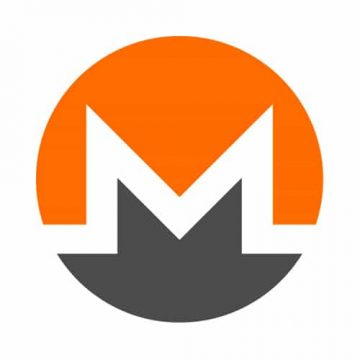 Monero Round Sticker