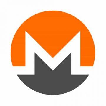 Monero Round Sticker