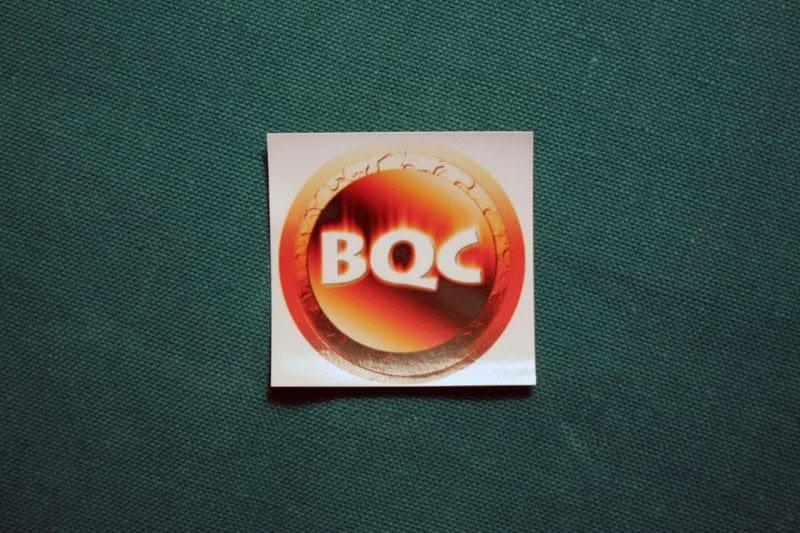BBQCoin Round Sticker
