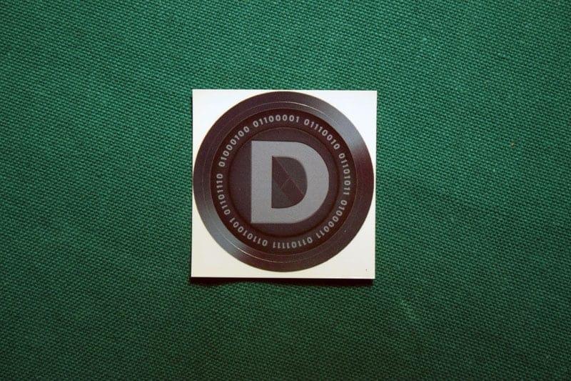 DASH Round Sticker