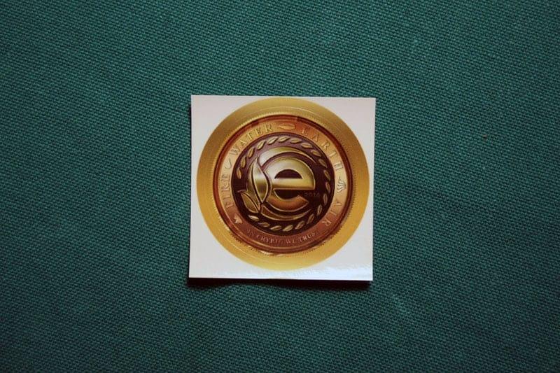 Earthcoin Round Sticker