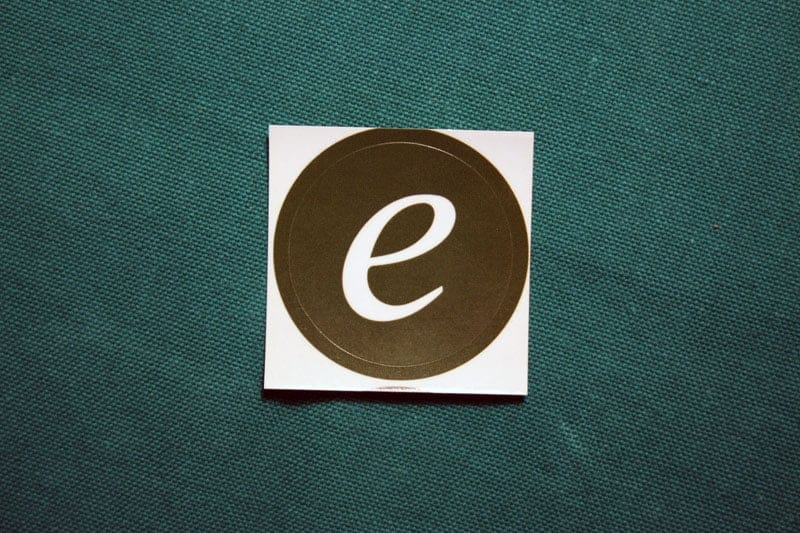 Elacoin Round Sticker