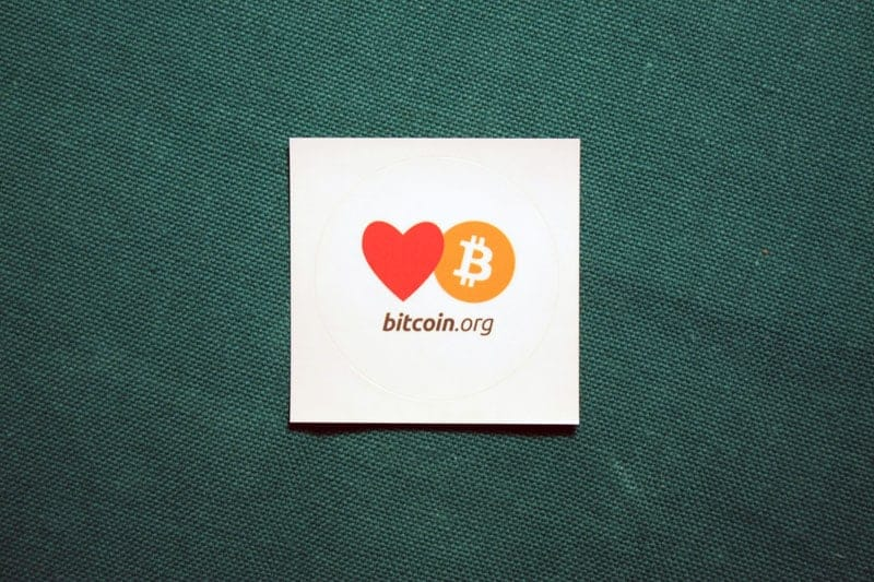 Love Bitcoin.org Sticker