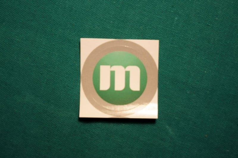 Memorycoin Round Sticker