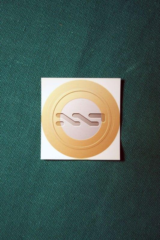 NXT Round Sticker