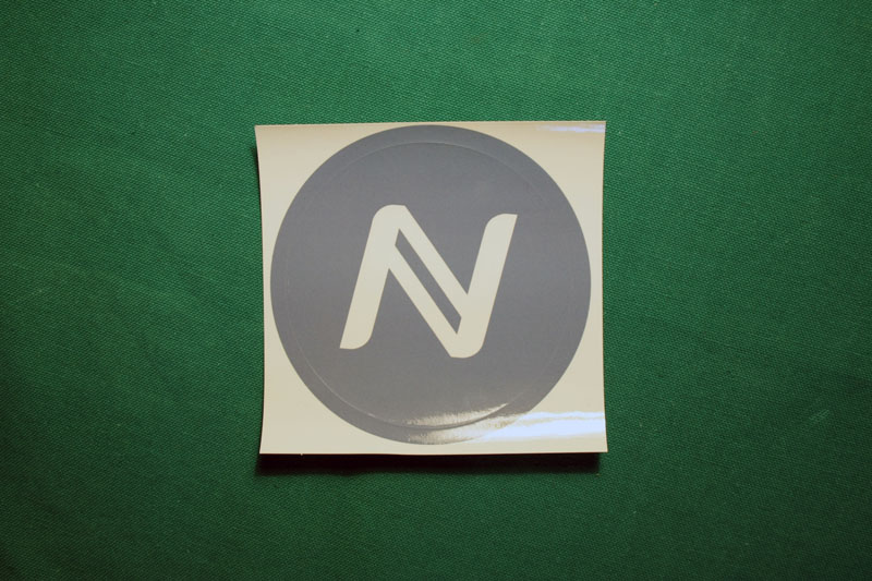 Namecoin Round Sticker