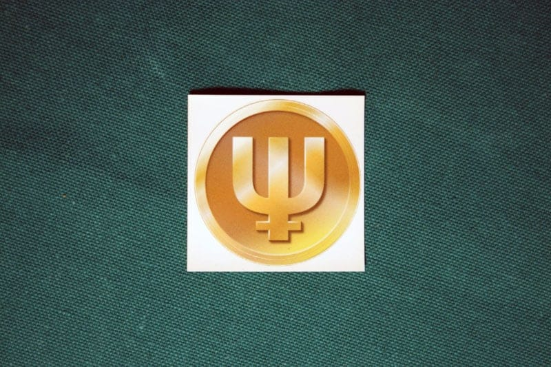 Primecoin Round Sticker