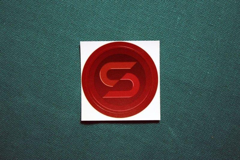 Stablecoin Round Sticker
