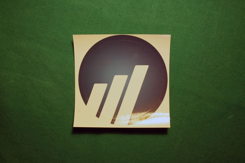 Worldcoin Round Sticker